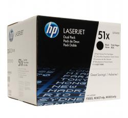 Cartus toner HP Q7551XD dual pack original